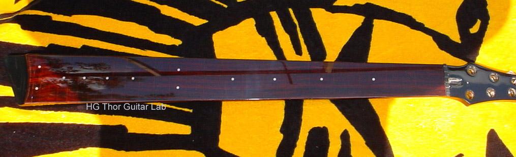 Construção de Contrabaixo NS Luthier Fretless Furry